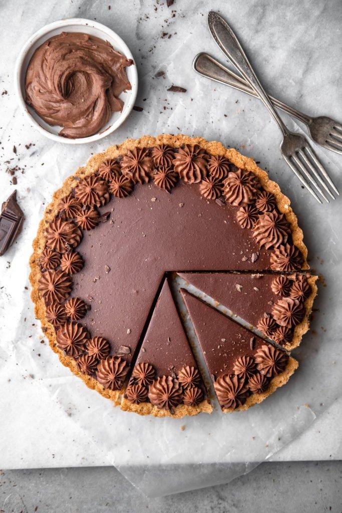 Čokoladna mousse pita